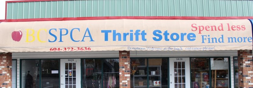 6dead85fc6f Donations. BC SPCA Thrift Stores ...