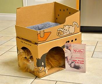 The BC SPCA's Hide, Perch & Go™ box wins international award