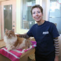 Shawna Willan with cat